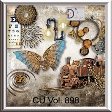 Vol. 898 Steampunk Mix by Doudou Design