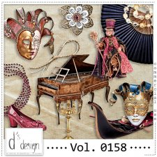 Vol. 0158 Venice Masquerade Mix by Doudou Design