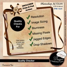 Quality Control Action Checker by Boop Designs