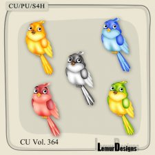 CU Vol 364 Bird by Lemur Designs