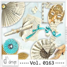 Vol. 0163 Music & Masquerade Mix by Doudou Design