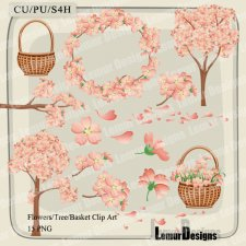 Flowers Clipart Pack 5 by Lemur Designs