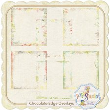 Chocolate Edges Overlay EXCLUSIVE by PapierStudio Silke