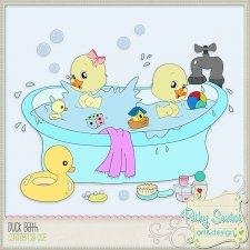 Duck Bath TEMPLATES by Pathy Design