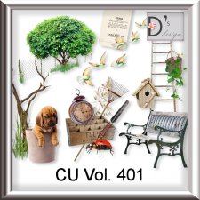 Vol. 401 Nature Garden Mix by Doudou Design