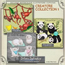 EXCLUSIVE Creature Collection 1 by Silver Splashes