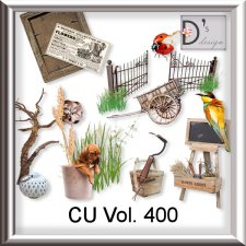 Vol. 400 Nature Garden Mix by Doudou Design
