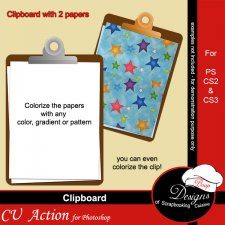 Clipboard ACTION by Boop Designs