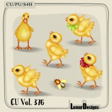 CU Vol 376 Easter Chicken Duck Bee by Lemur Designs