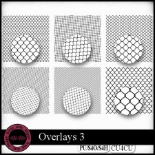 Overlays 3 CU4CU by Happy Scrap Art