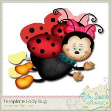 Template Lady Bug by Pathy Design