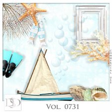 Vol. 0731 Summer Sea Mix by D's Design