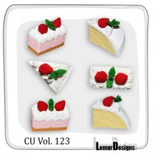 CU Vol 123 Food Cake by Lemur Designs