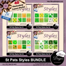 St Pats Styles BUNDLE by Boop Designs