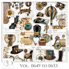 Vol. 0649 to 0653 Steampunk Mix by D's Design