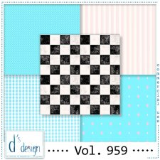 Vol. 959 Fifties papers by Doudou Design