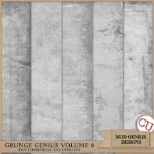 Grunge Genius Volume Eight by Mad Genius Designs