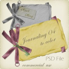 Journaling IV Layered TEMPLATE by Rose.li