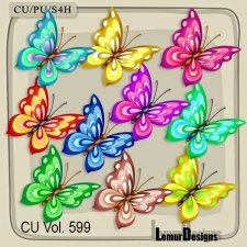 CU Vol 599 Butterfly by Lemur Designs