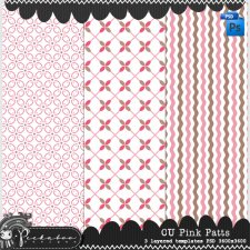 Pink Pattern Templates by Peek a Boo Designs