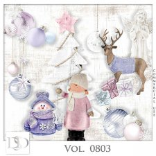 Vol. 0803 Winter Christmas Mix by D's Design