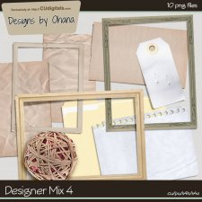 Notes & Frames Mix - EXCLUSIVE Designs by Ohana