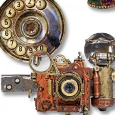 Vol. 647 Steampunk Mix by Doudou Design