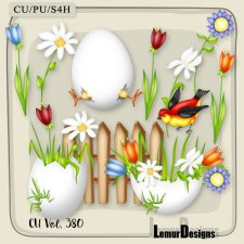 CU Vol 380 Easter Spring by Lemur Designs