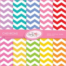Colorful Chevron Lilmade Designs