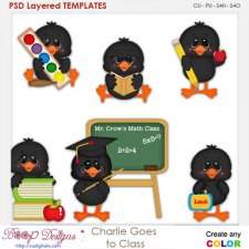 Charlie Bird Goes to Class Element Templates