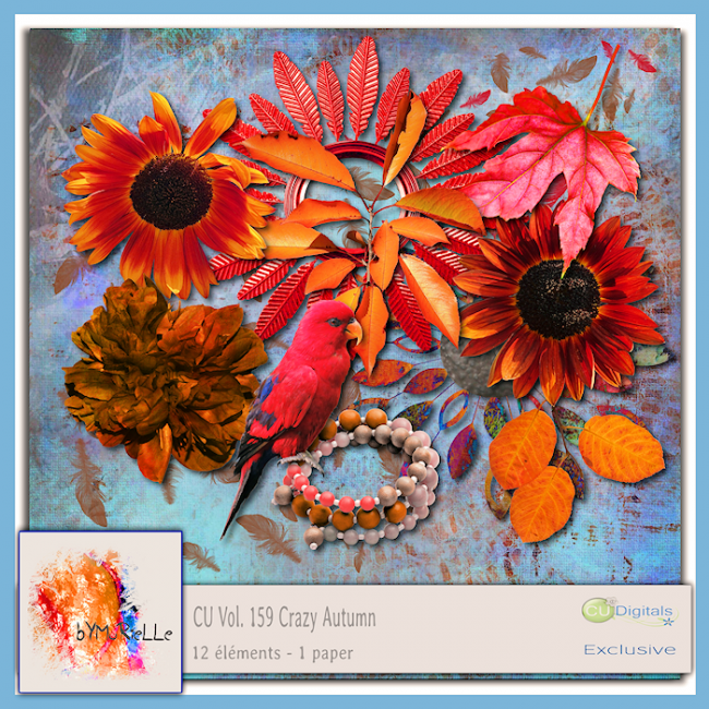 Vol 159 Crazy Autumn Elements EXCLUSIVE bymurielle