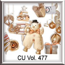 Vol. 477 Winter Christmas by Doudou Design