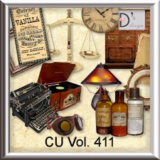Vol. 411 Vintage Mix by Doudou Design