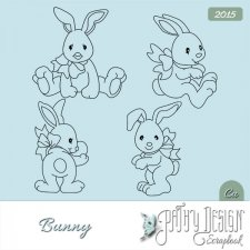 Doodles Bunny by Pathy Design