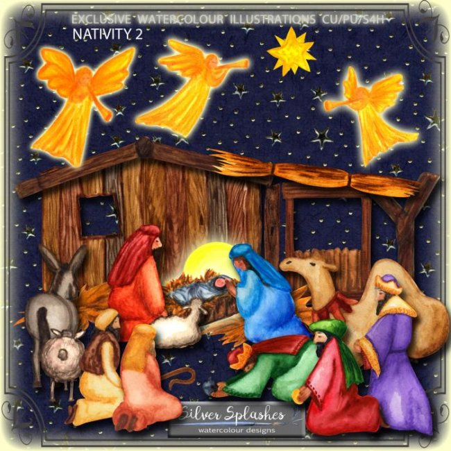 EXCLUSIVE Nativity 2 by Silver Splashes