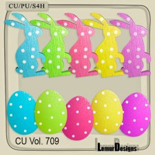 CU Vol 709 Easter by Lemur Designs