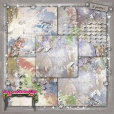 PAPERS Vol 103 painted EXCLUSIVE byMurielle