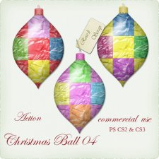 Action - Christmas Ball IV by Rose.li