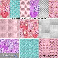 EXCLUSIVE Hearts Papers 1 by Silver Splashes