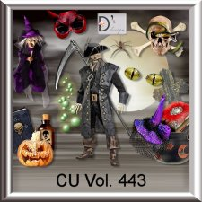 Vol. 443 Halloween Mix by Doudou Design