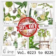 Vol. 0223 to 0226 Nature Mix by Doudou Design