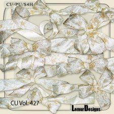 CU Vol 427 Christmas ribbons by Lemur Designs