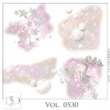 Vol. 0530 Winter Christmas Accents by D's Design