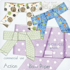 Action - Bow Paper by Rose.li