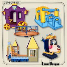 CU Vol 032 Kids Stuff Pack 2 by Lemur Designs