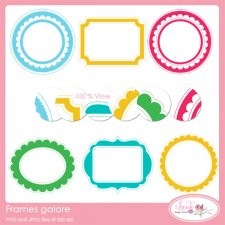Frames Galore Commercial use Frames Lilmade Designs