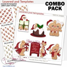 Marshmallow & Honey Bear Favorite Time of the Year COMBO Set