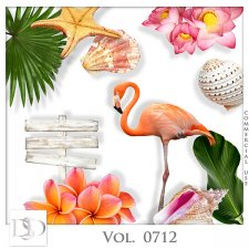 Vol. 0712 Tropical Sea Mix by D's Design