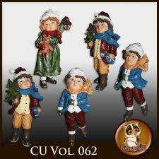 CU Vol 062 Christmas kids by Lemur Designs