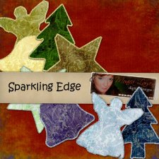 Sparkling Edge by Monica Larsen